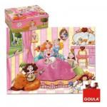 Puzzle 35 pièces : Princesse