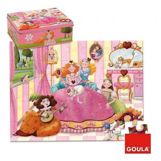 Puzzle 35 pièces : Princesse - Diset-Goula-53430