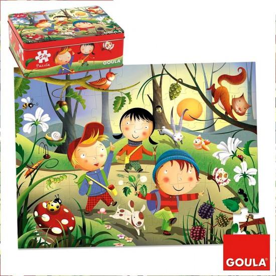 Puzzle 54 pièces : Forêt - Diset-Goula-53432