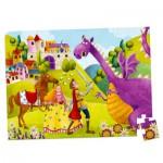 Puzzle 54 pièces : Le Prince et le Dragon