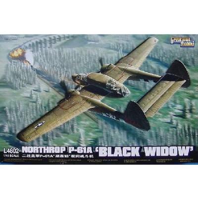 Maquette avion: Northrop P-61A Black Widow - GWH-GWL4802