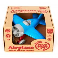 L'avion bleu