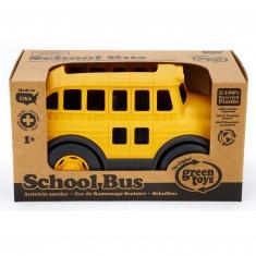 Le bus scolaire jaune
