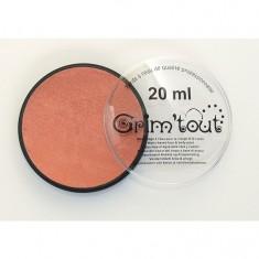 Maquillage Fard Galet 20 ml : Cuivre métallique