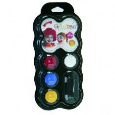 Maquillage Palette 4 couleurs : Clown