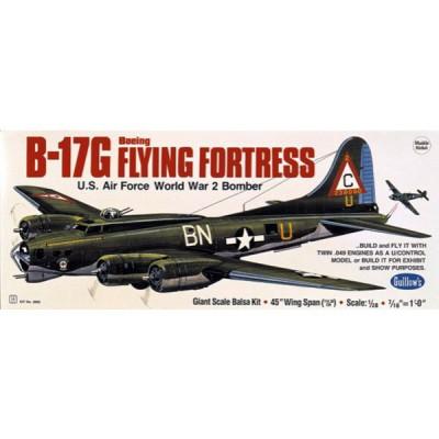 Maquette avion en bois : B-17 Flying Fortress - Guillows-0282002