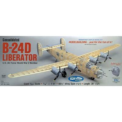 Maquette avion en bois : B-24D Liberator - Guillows-0282003