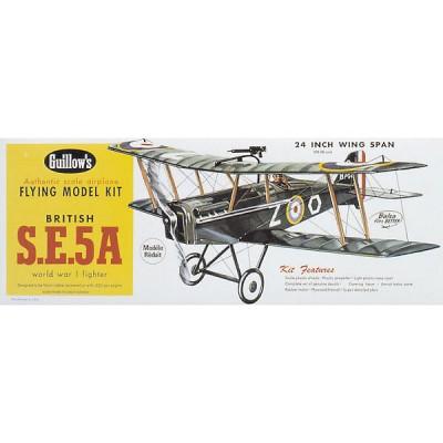 Maquette avion en bois : British SE5-A - Guillows-0280202