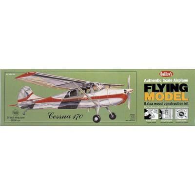 Maquette avion en bois : Cessa 170 - Guillows-0280302