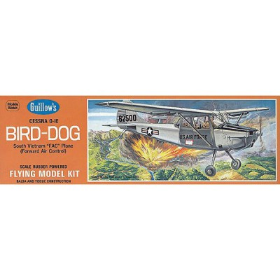 Maquette avion en bois : Cessna Bird Dog - Guillows-0280902