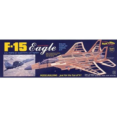 Maquette avion en bois : F-15 Eagle - Guillows-0281401