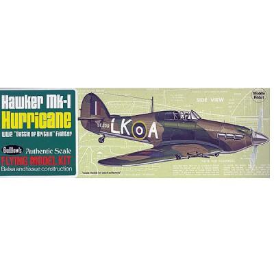 Maquette avion en bois : Hawker Hurricane - Guillows-0280506