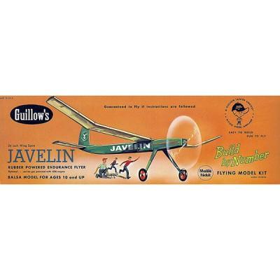Maquette avion en bois : Javelin - Guillows-0280603