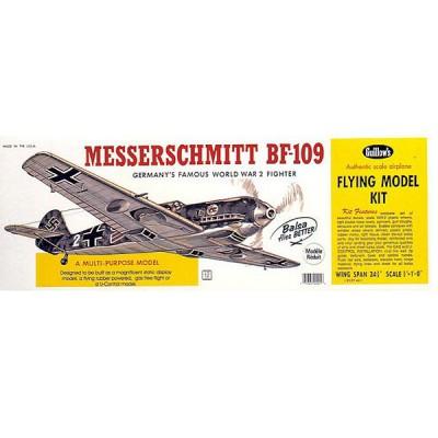 Maquette avion en bois : Messerschmitt BF-109 - Guillows-0280401