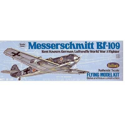 Maquette avion en bois : Messerschmitt BF-109 - Guillows-0280505