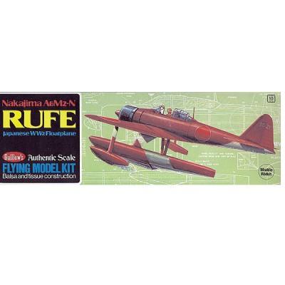 Maquette avion en bois : Rufe A6M2-N - Guillows-0280507