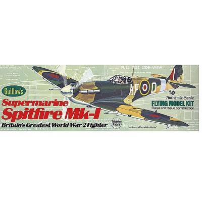 Maquette avion en bois : Spitfire MK-1 - Guillows-0280504