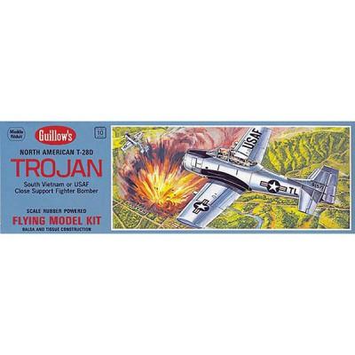 Maquette avion en bois : T-28 Trojan - Guillows-0280901