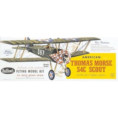 Maquette avionen bois: Thomas Morse S4C Scout - Guillows-0280201