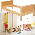 Chambre Matti Que de place : Lit bas  avec  tête et pied de lit