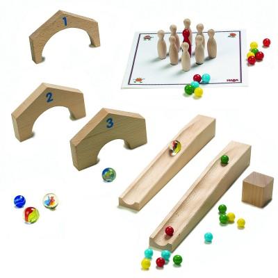 4 jeux pour toboggan billes jeux et jouets haba avenue des jeux. Black Bedroom Furniture Sets. Home Design Ideas
