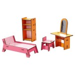 Accessoire maison de poupées : Little Friends : Coin beauté
