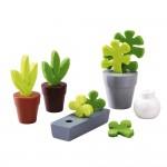 Accessoire maison de poupées : Little Friends : Fleurs et plantes
