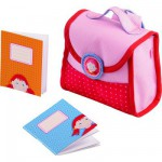 Accessoires de poupées : Cartable d'écolier