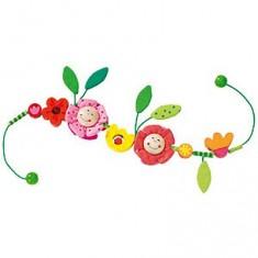 Activité d'éveil pour poussette :  Petites Fleurs