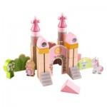 Blocs de construction en bois : Petit chateau