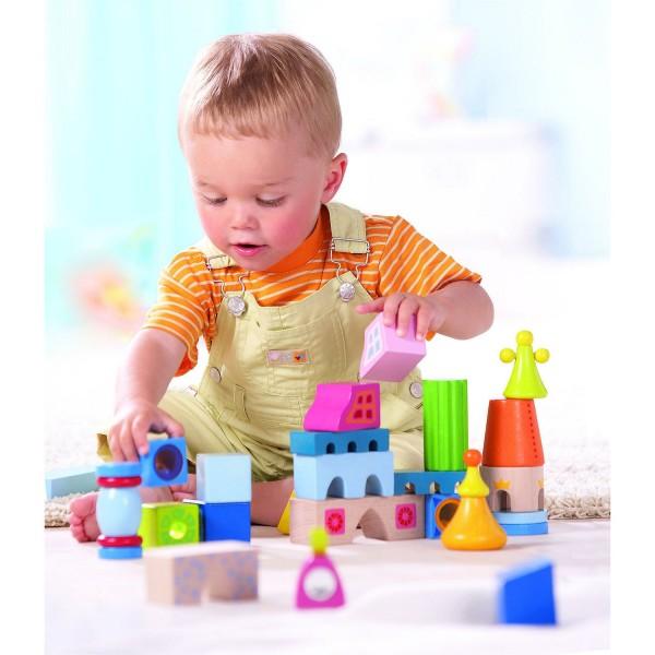blocs de construction s villa jeux et jouets haba avenue des jeux. Black Bedroom Furniture Sets. Home Design Ideas