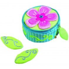 Boîte à bijoux Mia : Magie des fleurs