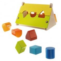 Boîte à formes : Triangle cachette