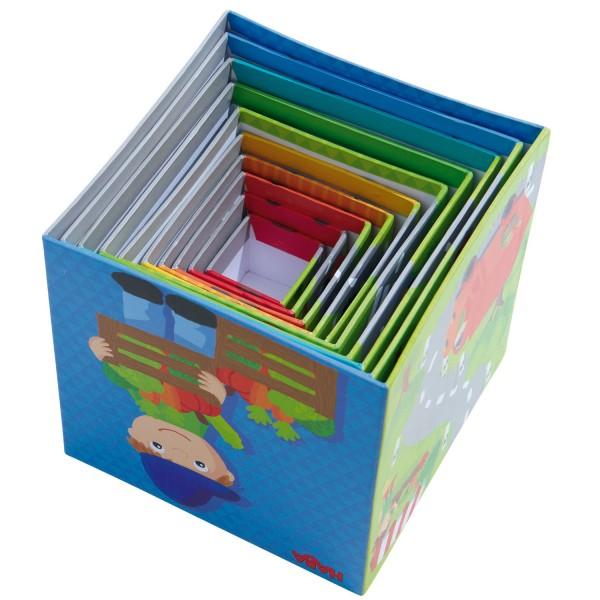 cubes empiler petits bolides jeux et jouets haba avenue des jeux. Black Bedroom Furniture Sets. Home Design Ideas