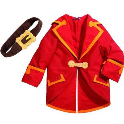 Déguisement Cap'taine Cristobal : Veste et ceinture : 3/6 ans - Haba-5725