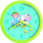 Horloge murale : La ferme