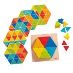 Jeu d'assemblage : Triangles magiques