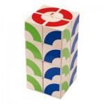 Jeu d'assemblage cubes à cubes
