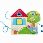 Jeu de laçage : La cabane dans le jardin