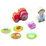Mon premier univers de jeu La ferme : Figurines Tim et son tracteur