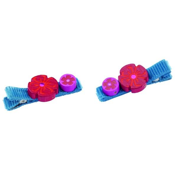 Pinces à cheveux : Coquelicots - Haba-7276