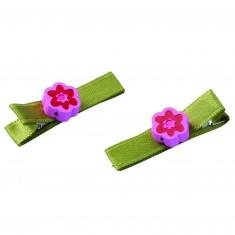 Pinces à cheveux : Jolies fleurs