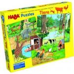 Puzzles 12 à 18 pièces : 3 puzzles : Les animaux