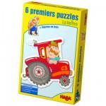 Puzzles 2 à 4 pièces : 6 puzzles : La ferme