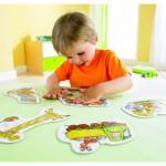 Puzzles 2 à 4 pièces : 6 puzzles : Le chantier