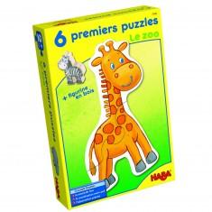 Puzzles 2 à 4 pièces : 6 puzzles Mes premiers puzzles : Le zoo