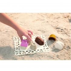 Sun Bistro : Petits fours en sable