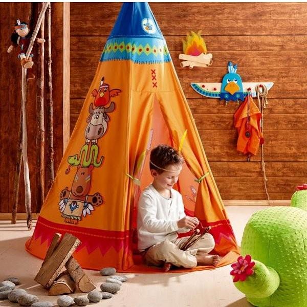 tente de jeu tipi jeux et jouets haba avenue des jeux. Black Bedroom Furniture Sets. Home Design Ideas