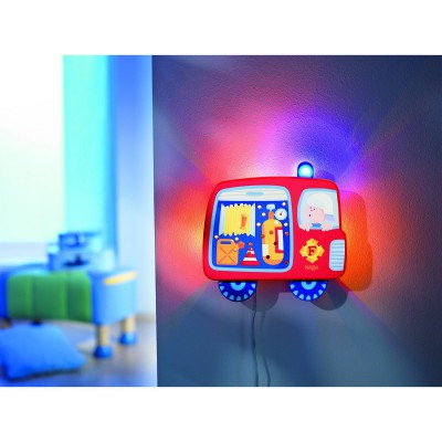 Veilleuse Pin-Pon, Pin-pon ! Les pompiers - Haba-7595