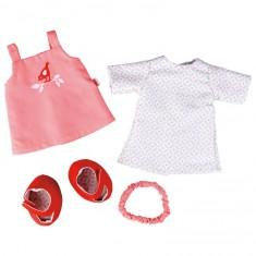 Vêtement pour poupée de 30 à 34 cm : Ensemble Petit Oiseau
